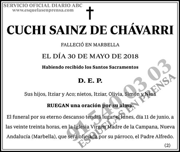 Cuchi Sanz de Chávarri
